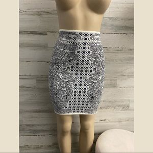 BCBG  spandex mini skirt new tags size XS